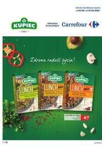 Gazetka promocyjna Carrefour - Tanie produkty taniej marki w Carrefour! - ważna do 14-09-2020