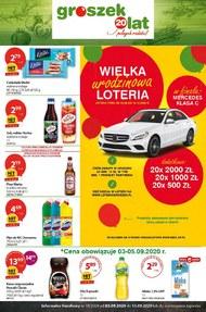 Wielka loteria urodzinowa w sklepach Groszek!