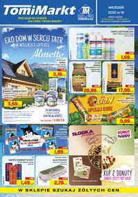 Gazetka promocyjna TomiMarkt - Promocje na co dzień w TomiMarkt - ważna do 17-09-2020