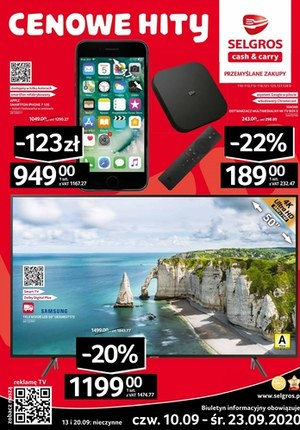 Gazetka promocyjna Selgros Cash&Carry - Oferta przemysłowa w Selgros