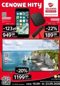 Gazetka promocyjna Selgros Cash&Carry - Oferta przemysłowa w Selgros - ważna do 23-09-2020