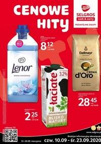 Gazetka promocyjna Selgros Cash&Carry - Cenowe hity w Selgros - ważna do 23-09-2020