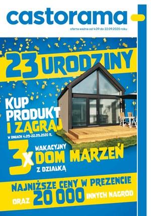 Gazetka promocyjna Castorama - Świętuj 23 urodziny Castoramy!