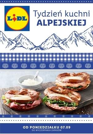 Gazetka promocyjna Lidl - Tydzień alpejski w Lidlu