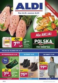 Gazetka promocyjna Aldi - Promocje w sklepach Aldi - ważna do 19-09-2020