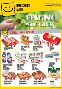 Gazetka promocyjna Uśmiechnięte zakupy - Super ceny w sklepach Uśmiechnięte zakupy! - ważna do 20-09-2020