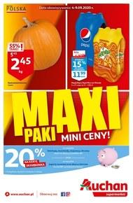 Maxi paki w Auchan Supermarket!