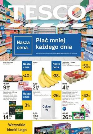 Gazetka promocyjna Tesco Centra Handlowe - Promocje w Tesco!