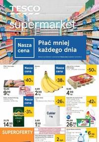 Gazetka promocyjna Tesco Supermarket - Płać mniej każdego dnia w sklepach Tesco - ważna do 16-09-2020