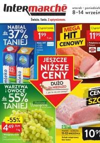 Gazetka promocyjna Intermarche Super - Wielka wyprzedaż w Intermarche! - ważna do 14-09-2020
