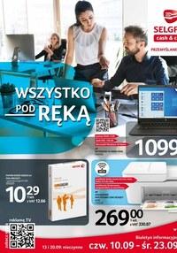 Gazetka promocyjna Selgros Cash&Carry - Wszystko pod ręką w Selgros - ważna do 23-09-2020
