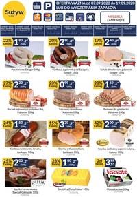 Gazetka promocyjna Sużyw - Oferta sklepów Sużyw - ważna do 19-09-2020