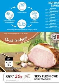 Gazetka promocyjna bi1 - Smak tradycji w Bi1 - ważna do 15-09-2020