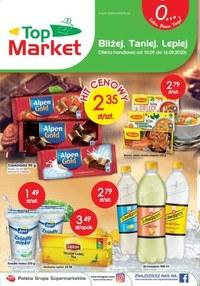 Gazetka promocyjna Twój Market - Bliżej, taniej, lepiej - Top Market! - ważna do 16-09-2020
