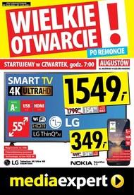 Wielkie Otwarcie - Media Expert Augustów!