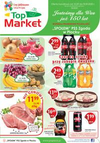 Gazetka promocyjna Top Market - Promocje w Top Markecie! - ważna do 19-09-2020
