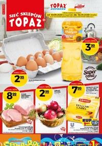 Gazetka promocyjna Topaz - Kupuj taniej w Topaz! - ważna do 18-09-2020