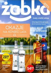 Gazetka promocyjna Żabka - Okazje na koniec lata w Żabce - ważna do 22-09-2020