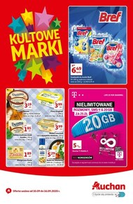 Kultowe marki w Auchan!