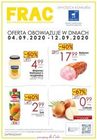 Gazetka promocyjna FRAC - Oferta handlowa FRAC! - ważna do 12-09-2020
