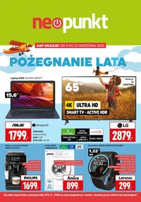 Gazetka promocyjna NEOPUNKT - Pożegnania lata w Neopunkt - ważna do 22-09-2020
