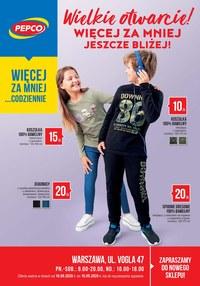 Gazetka promocyjna Pepco - Wielkie otwarcie Pepco w Warszawie! - ważna do 16-09-2020