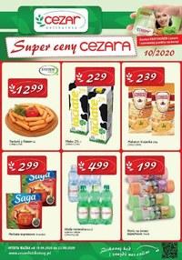 Gazetka promocyjna Delikatesy CEZAR - Promocje w Delikatesach Cezar - ważna do 23-09-2020