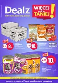 Gazetka promocyjna Dealz - Kupuj taniej w sklepach Dealz! - ważna do 23-09-2020