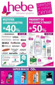 Promocje w sklepach Hebe