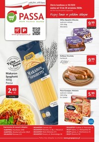 Gazetka promocyjna Passa - Promocje w sklepach Passa - ważna do 26-09-2020
