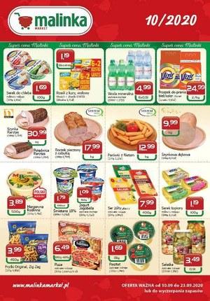 Gazetka promocyjna MALINKA Market - Oferta Malinki Market