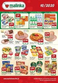 Gazetka promocyjna MALINKA Market - Oferta Malinki Market - ważna do 23-09-2020