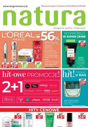 Gazetka promocyjna Drogerie Natura - Hit-owe promocje w Drogerii Natura
