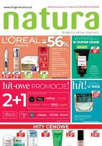 Gazetka promocyjna Drogerie Natura - Hit-owe promocje w Drogerii Natura - ważna do 23-09-2020