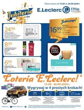 Loteria w E.Leclerc Elbląg