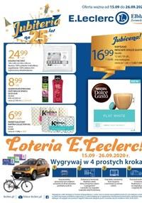 Gazetka promocyjna E.Leclerc - Loteria w E.Leclerc Elbląg  - ważna do 26-09-2020