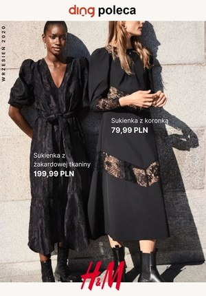 Gazetka promocyjna H&M - Sukienki z recyklingu w H&M
