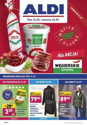 Gazetka promocyjna Aldi - Węgierskie specjały w Aldi