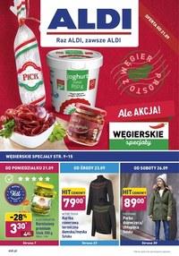 Gazetka promocyjna Aldi - Węgierskie specjały w Aldi  - ważna do 27-09-2020
