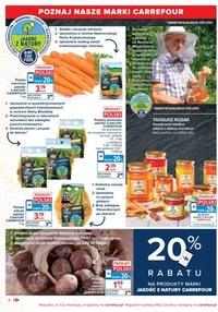Gazetka promocyjna Carrefour Market - Naturalnie i zdrowo w Carrefour Market!
