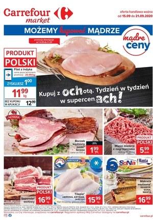 Gazetka promocyjna Carrefour Market - Mądre zakupy w Carrefour Market!