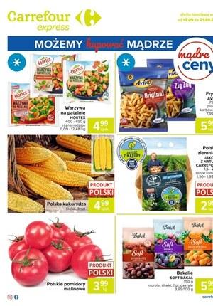 Gazetka promocyjna Carrefour Express - Carrefour Express i niskie ceny!
