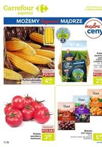 Gazetka promocyjna Carrefour Express - Oferta spożywcza Carrefour Express! - ważna do 21-09-2020