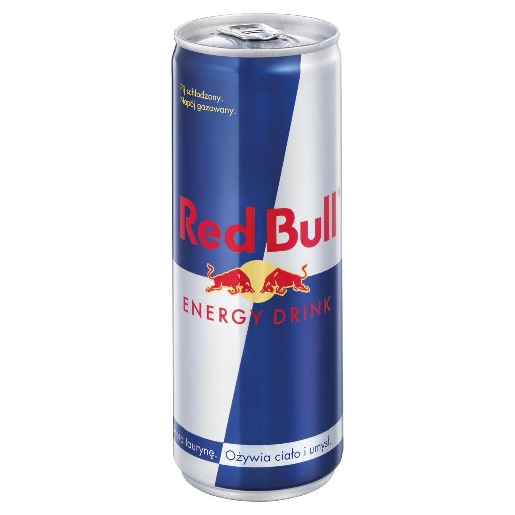 Napój energetyczny Red Bull - 0