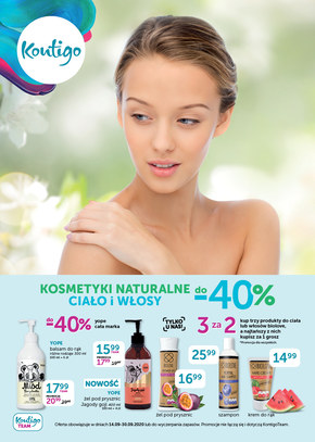 Kosmetyki naturalne w Kontigo!