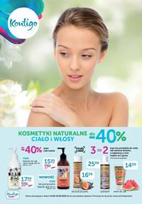 Gazetka promocyjna Kontigo - Kosmetyki naturalne w Kontigo! - ważna do 30-09-2020