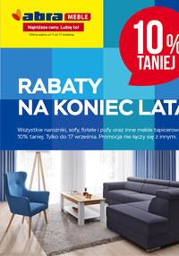 Gazetka promocyjna Abra - Rabaty na koniec lata w Abra! - ważna do 17-09-2020