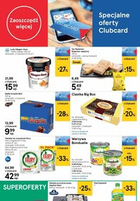 Gazetka promocyjna Tesco Supermarket - Jesienne promocje w Tesco Supermarket!