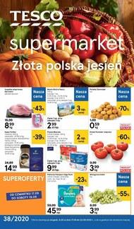Jesienne promocje w Tesco Supermarket!