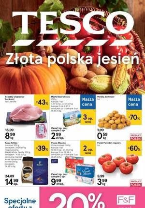 Gazetka promocyjna Tesco Centra Handlowe - Jesienne promocje w Tesco!